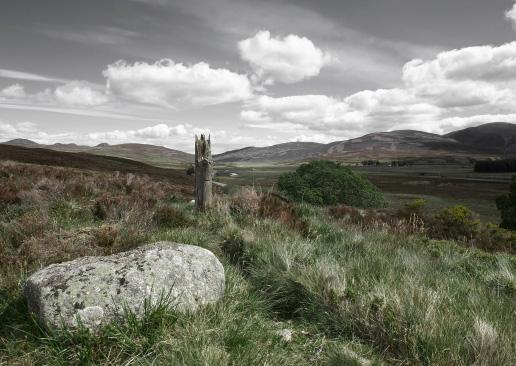 Highlands in der Nähe von dalwhinnie