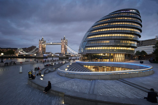 City Hall Und Tower Bridge