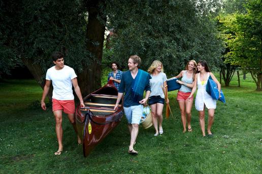 Boot tragen