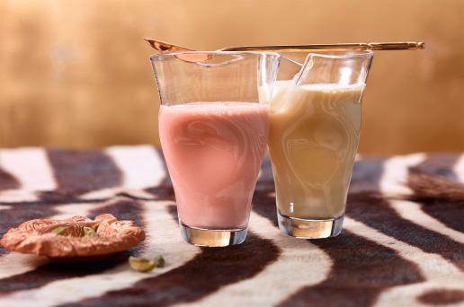Acai Shake, Chai-Latte