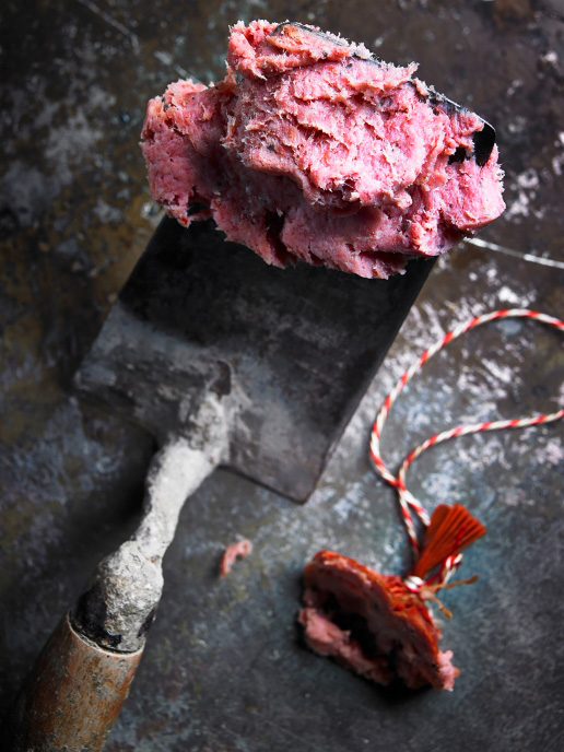 Teewurst von Iberico Schwein
