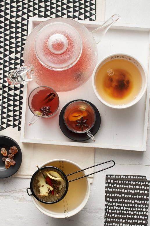 Scharfer Zitronen Chili-Tee, Heißer Apfel Punsch