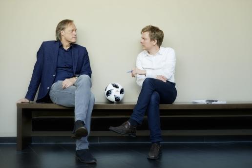 Gerhard Delling und Daniel Müller